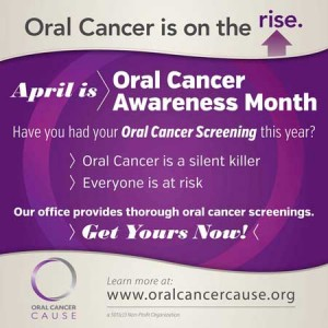 Oral cancer is on the rise